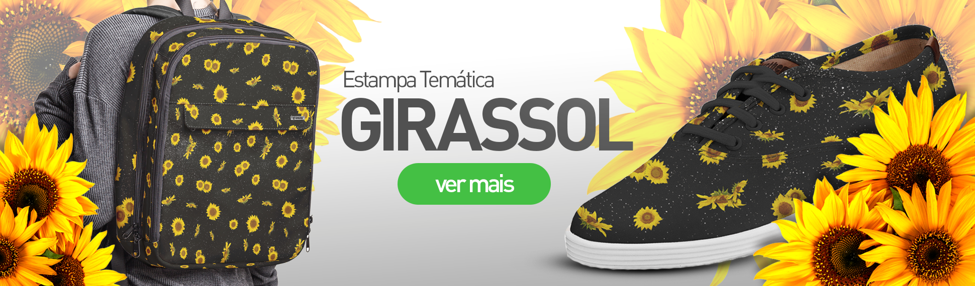 Estampa Flowers - Girassol