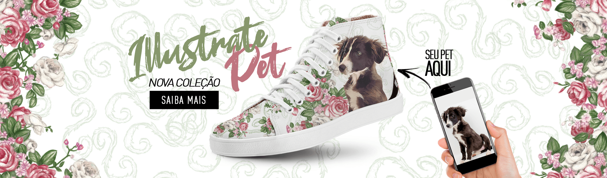 Banner Illustrate Pet Roses